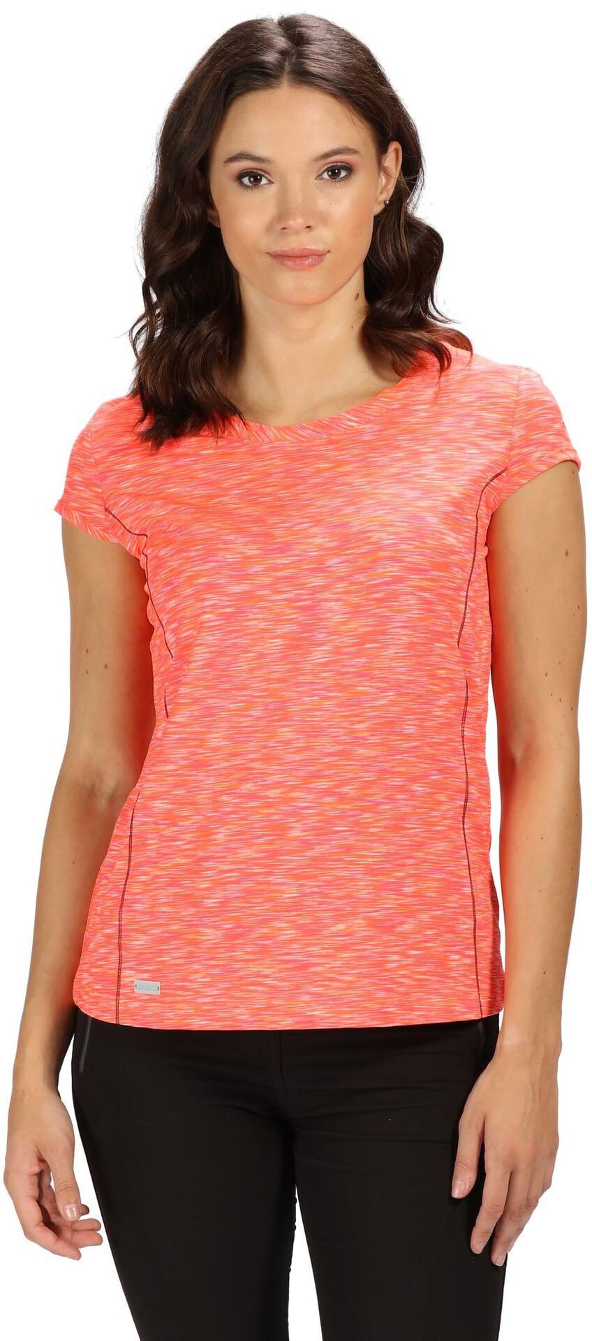 Regatta Hyperdimension T shirt Damer, shock orange
